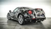 """Змийски"" тунинг за  Alfa Romeo 4C (снимки)"