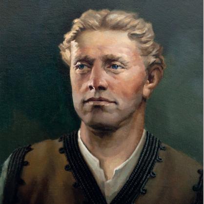 Портрет на Васил Левски, който ще бъде поставен в българските училища