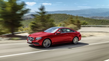 Новият Mercedes E-Class Coupe