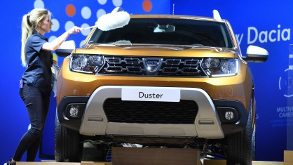 Dacia Duster на автоизложението във Франкфурт