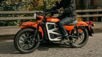 Урал представи електрически мотоциклет с кош